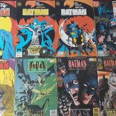 Cómics: LOTE DE 8 COMICS BATMAN VOL.2 ZINCO Nº 4, 5, 6, 26 Y 29 LEYENDAS DE BATMAN Nº 30, 38 Y 44. Lote 263017325