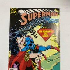 Cómics: SUPERMAN. Nº 44.- SUPERMAN Y WONDER WOMAN, EL ROMANCE DEL SIGLO. EDICIONES ZINCO / DC.. Lote 263232985