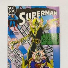 Cómics: SUPERMAN. Nº 63.- ¡MUERTE CEREBRAL!. DC / EDICIONES ZINCO.. Lote 263239570