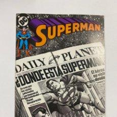 Fumetti: SUPERMAN. Nº 61.- TERRENO PELIGROSO. DC / EDICIONES ZINCO.. Lote 263240285