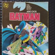 Cómics: BATMAN YEAR 2 Nº7 SPANISH EDITION-ZINCO-1987-FN-BOLSA Y BACKBOARD. Lote 263258700