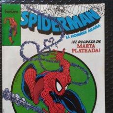 Cómics: DESCATALOGADO-SPIDERMAN #191 MACFARLANE(USA #301)-SPANISH EDITION-FORUM-VFN-BOLSA Y BACKBOARD. Lote 263259300
