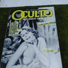 Cómics: OCULTO (HILO DIRECTO CON EL MISTERIO). TOMO 2 CON Nº 4, 5 Y 6 (EDS. ZINCO, 1988) COMICS TERROR. Lote 263600730