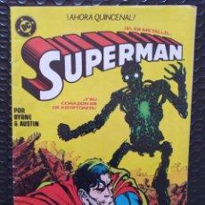 Cómics: DESCATALOGADO-SUPERMAN #6-BYRNE-ZINCO-FN-BOLSA & BACKBOARD. Lote 263683760