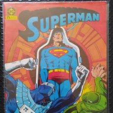 Cómics: DESCATALOGADO-SUPERMAN #38-ZINCO-VFN-BOLSA & BACKBOARD. Lote 263686015