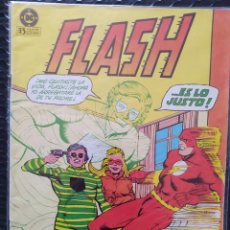 Cómics: DESCATALOGADO-FLASH #8-ZINCO-VFN-BOLSA & BACKBOARD. Lote 263687105
