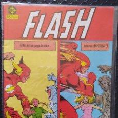 Cómics: DESCATALOGADO-FLASH #12-ZINCO-VFN-BOLSA & BACKBOARD. Lote 263687460