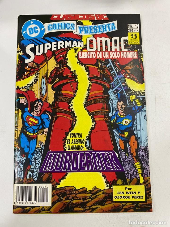 SUPERMAN Y OMAC. EJERCITO DE UN SOLO HOMBRE. Nº 19. DC / EDICIONES ZINCO (Tebeos y Comics - Zinco - Superman)