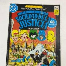 Cómics: LOS ULTIMOS DIAS DE LA SOCIEDAD DE LA JUSTICIA DE AMERICA. Nº 1.- ESPECIAL NAVIDAD. DC / ZINCO. Lote 264287504