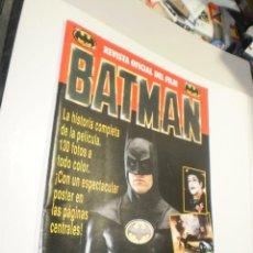 Comics : REVISTA OFICIAL DEL FILM BATMAN. 1989 (SEMINUEVA). Lote 264452369