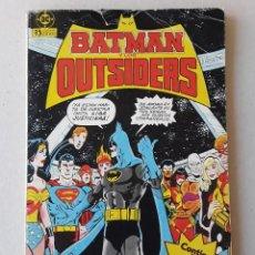 Cómics: BATMAN Y LOS OUTSAIDERS. Lote 264479309