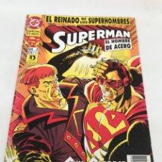 Cómics: COMIC SUPERMAN. 2 EJEMPLARES. Lote 264629244