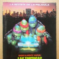 Cómics: LAS TORTUGAS NINJA II: EL SECRETO DE LOS MOCOS VERDES / LA REVISTA DE LA PELÍCULA (ZINCO, 1991).. Lote 264829629