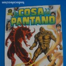 Cómics: COMIC DE LA COSA DEL PANTANO AÑO 1985 Nº 4 DE EDICIONES ZINCO LOTE 8 F. Lote 265123174