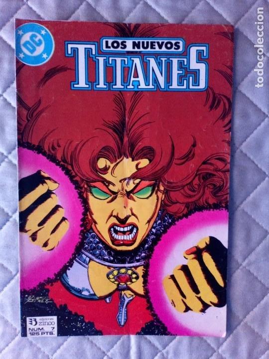 NUEVOS TITANES VOL.2 Nº 7 ZINCO (Tebeos y Comics - Zinco - Nuevos Titanes)