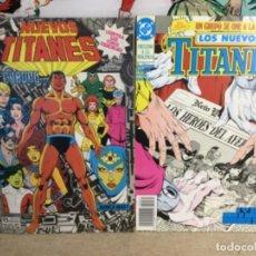 """Cómics: 2 CÓMICS """" NUEVOS TITANES """" ( Nº 35 Y 46 ) - (REF,14). Lote 265416124"""