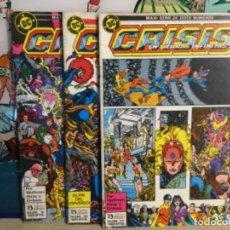"""Cómics: 3 CÓMICS """" CRISIS EN TIERRAS INFINITAS """" Nº 9-10 Y11 (REF,23). Lote 265432759"""