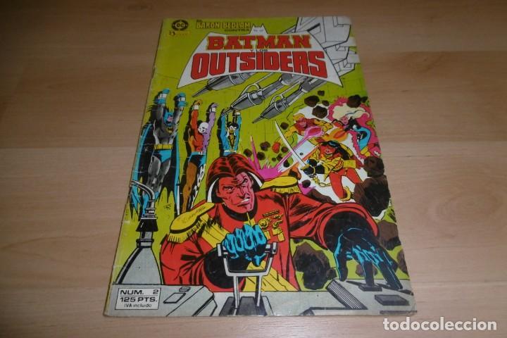 COMIC EL BARÓN BEDLAM CONTRA BATMAN Y LOS OUTSIDERS Nº 2 EDICIONES ZINCO (Tebeos y Comics - Zinco - Outsider)
