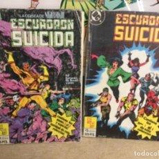 Cómics: 2 TOMOS COMIC - ESCUADRÓN SUICIDA (REF,71)CONTIENE 4 COMIC Y OTRO 5 COMIC. Lote 265550324