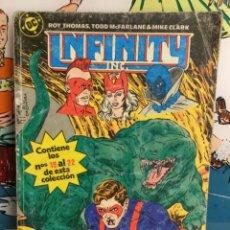 Cómics: COMIC INFINITY INC. TOMO 5; ZINCO (Nº 19 AL 22) (REF 84). Lote 265570279