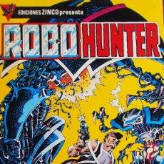 Cómics: ROBOHUNTER - EDICIONES ZINCO - NÚMEROS 1 AL 5. Lote 265826219
