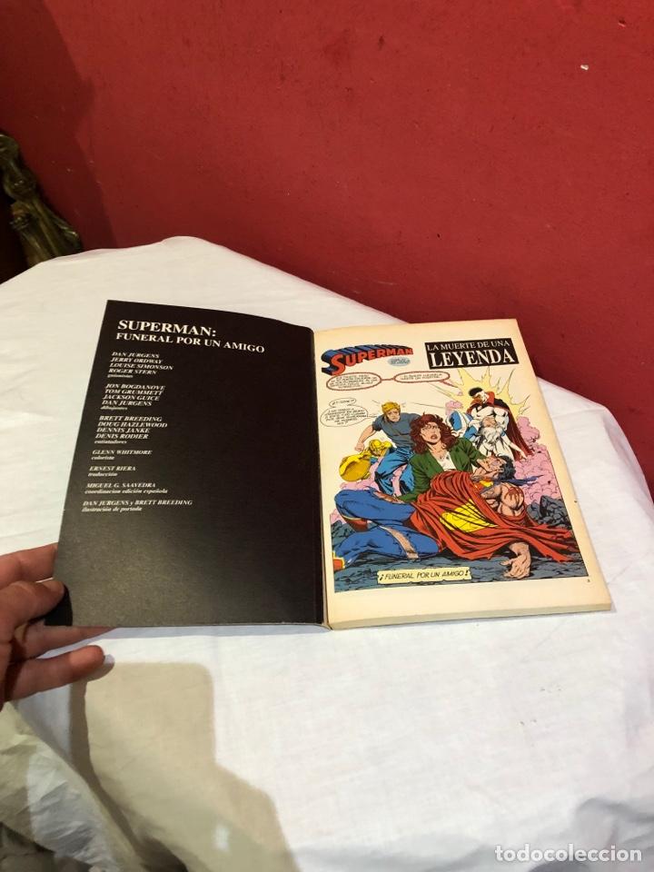 Cómics: Funeral por amigo superman . - Foto 2 - 266054533