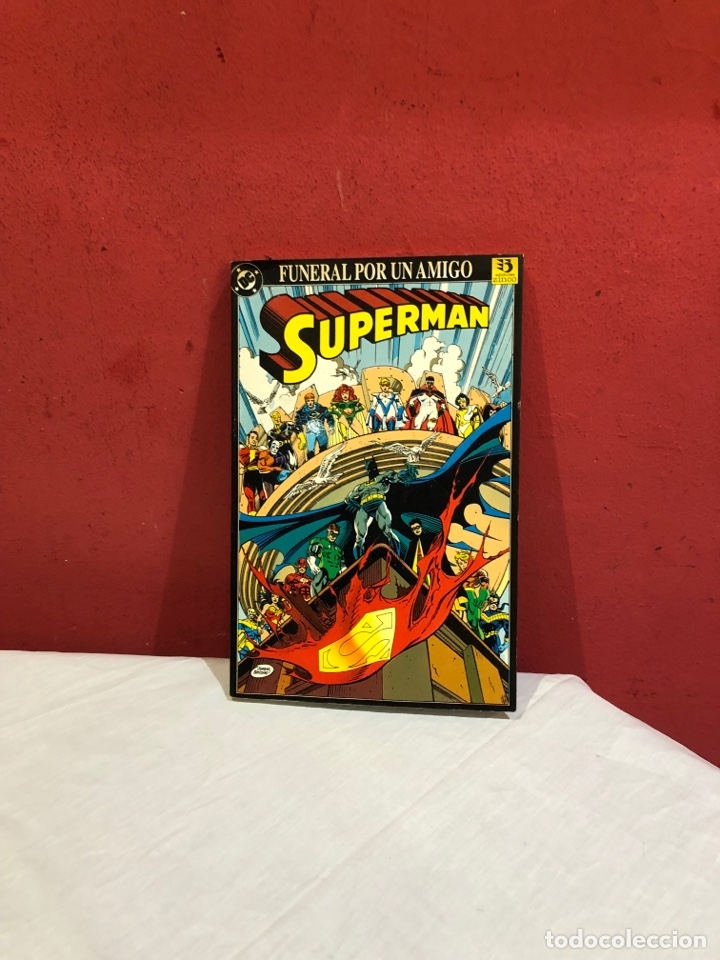 FUNERAL POR AMIGO SUPERMAN . (Tebeos y Comics - Zinco - Superman)