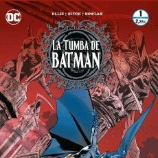 Cómics: WARREN ELLIS. LA TUMBA DE BATMAN. COLECCION COMPLETA: 12 NUMEROS ECC. Lote 266132913
