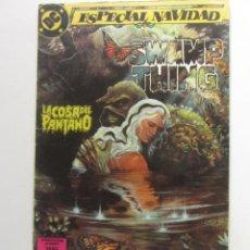 Comics : LA COSA DEL PANTANO Nº 1 ESPECIAL NAVIDAD ZINCO MUCHOS EN VENTA, MIRA TUS FALTAS BUEN ESTADO ARX105. Lote 266376328