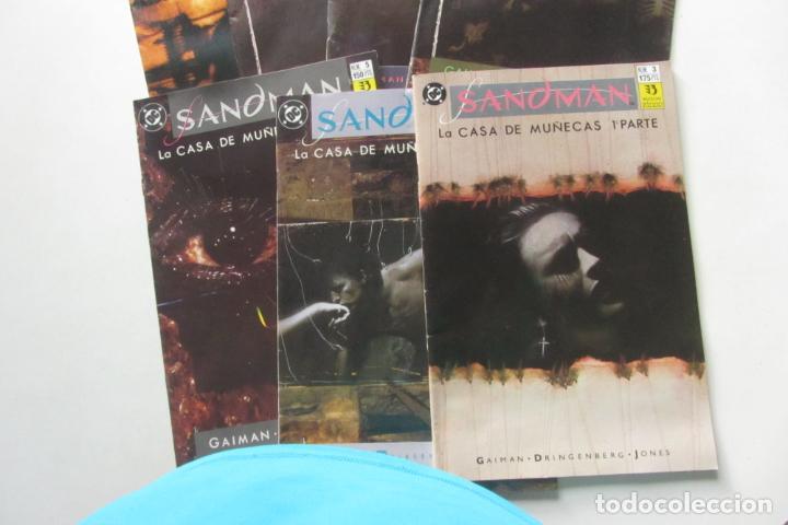 Cómics: SANDMAN LA CASA DE MUÑECAS COMPLETA Nº 3 AL 9 ZINCO MUCHOS EN VENTA MIRA FALTAS BUEN ESTADO ARX105 - Foto 2 - 266380583