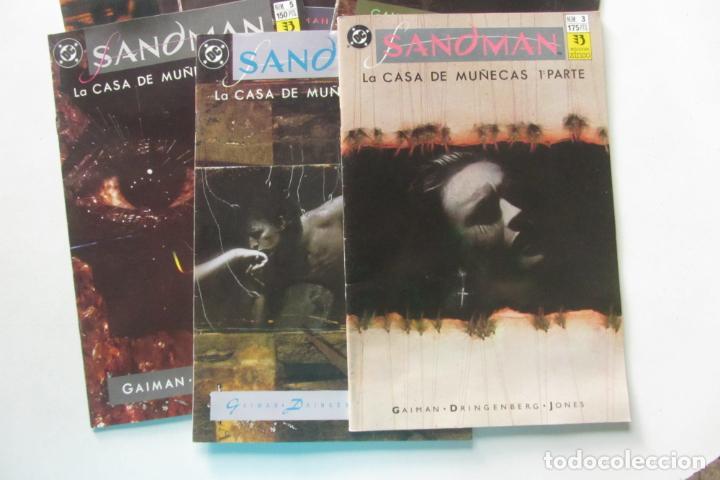Cómics: SANDMAN LA CASA DE MUÑECAS COMPLETA Nº 3 AL 9 ZINCO MUCHOS EN VENTA MIRA FALTAS BUEN ESTADO ARX105 - Foto 3 - 266380583