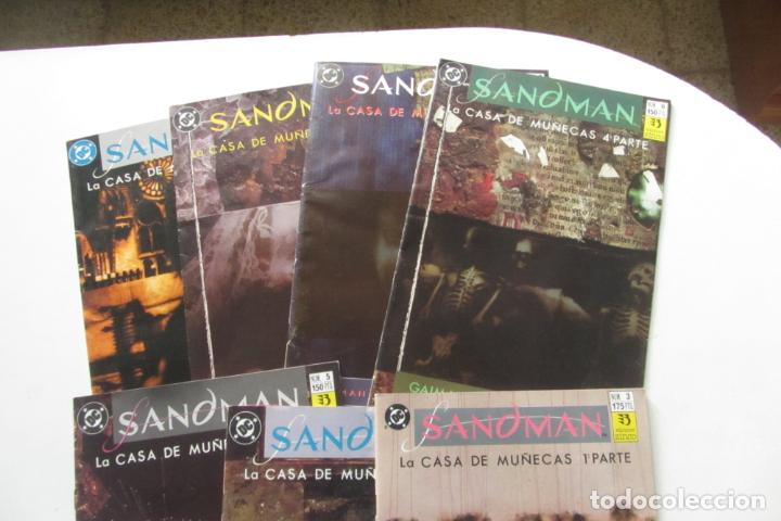 Cómics: SANDMAN LA CASA DE MUÑECAS COMPLETA Nº 3 AL 9 ZINCO MUCHOS EN VENTA MIRA FALTAS BUEN ESTADO ARX105 - Foto 4 - 266380583