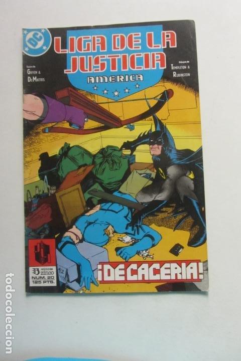 LIGA DE LA JUSTICIA AMERICA Nº 20 ZINCO MUCHOS EN VENTA MIRA FALTAS BUEN ESTADO ARX110 (Tebeos y Comics - Zinco - Liga de la Justicia)