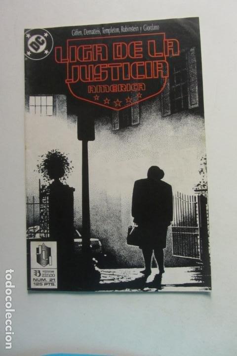 LIGA DE LA JUSTICIA AMERICA Nº 21 ZINCO MUCHOS EN VENTA MIRA FALTAS BUEN ESTADO ARX110 (Tebeos y Comics - Zinco - Liga de la Justicia)