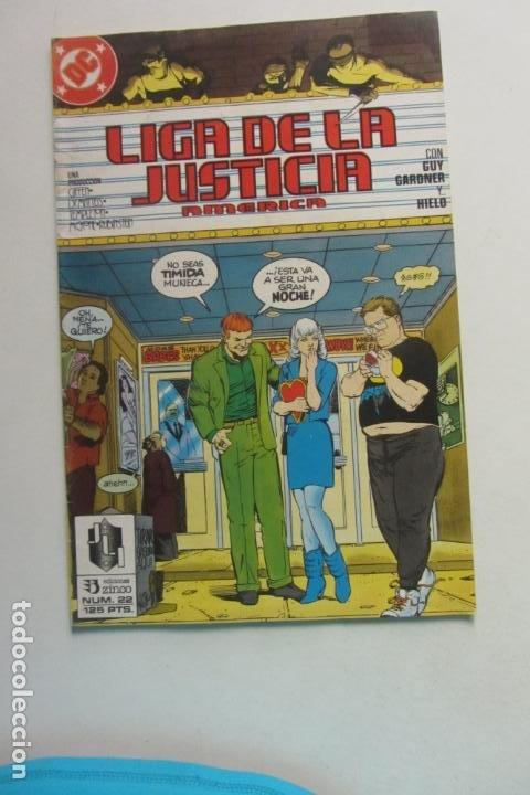 LIGA DE LA JUSTICIA AMERICA Nº 22 ZINCO MUCHOS EN VENTA MIRA FALTAS BUEN ESTADO ARX110 (Tebeos y Comics - Zinco - Liga de la Justicia)