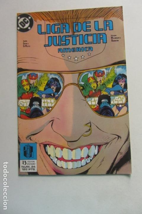 LIGA DE LA JUSTICIA AMERICA Nº 24 ZINCO MUCHOS EN VENTA MIRA FALTAS BUEN ESTADO ARX110 (Tebeos y Comics - Zinco - Liga de la Justicia)