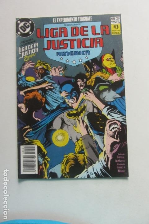 LIGA DE LA JUSTICIA AMERICA Nº 26 ZINCO MUCHOS EN VENTA MIRA FALTAS BUEN ESTADO ARX110 (Tebeos y Comics - Zinco - Liga de la Justicia)