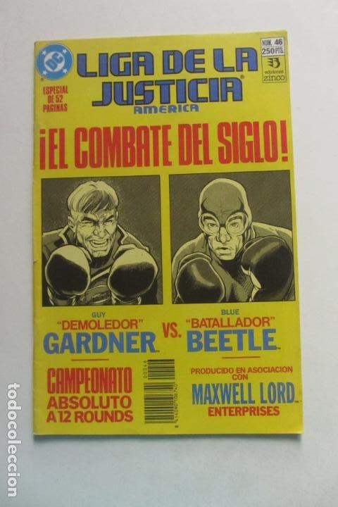 LIGA DE LA JUSTICIA AMERICA Nº 46 DIFICIL ZINCO MUCHOS EN VENTA MIRA FALTAS BUEN ESTADO ARX110 (Tebeos y Comics - Zinco - Liga de la Justicia)