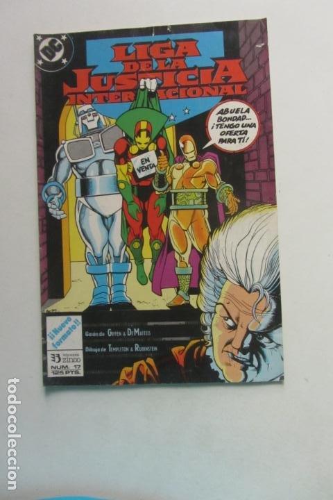 LIGA DE LA JUSTICIA AMERICA Nº 17 ZINCO MUCHOS EN VENTA MIRA FALTAS BUEN ESTADO ARX110 (Tebeos y Comics - Zinco - Liga de la Justicia)