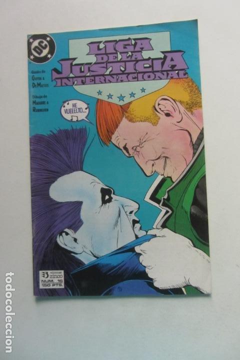 LIGA DE LA JUSTICIA AMERICA Nº 16 ZINCO MUCHOS EN VENTA MIRA FALTAS BUEN ESTADO ARX110 (Tebeos y Comics - Zinco - Liga de la Justicia)