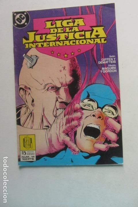 LIGA DE LA JUSTICIA AMERICA Nº 14 ZINCO MUCHOS EN VENTA MIRA FALTAS BUEN ESTADO ARX110 (Tebeos y Comics - Zinco - Liga de la Justicia)