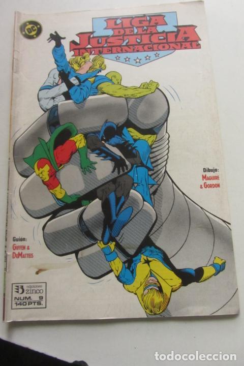 LIGA DE LA JUSTICIA AMERICA Nº 9 ZINCO MUCHOS EN VENTA MIRA FALTAS ARX110 (Tebeos y Comics - Zinco - Liga de la Justicia)