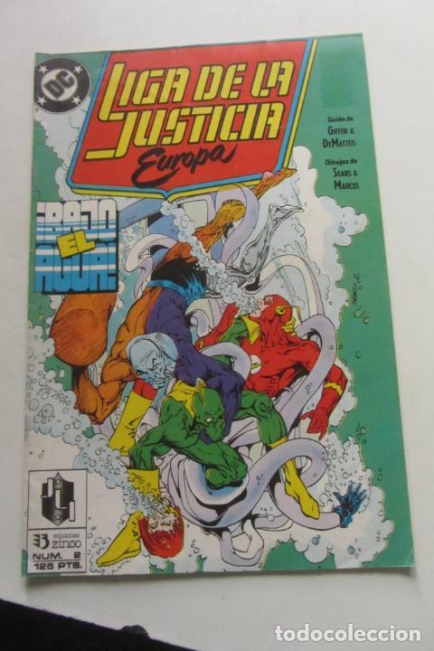 LIGA DE LA JUSTICIA EUROPA Nº 3 ZINCO MUCHOS EN VENTA MIRA FALTAS ARX110 (Tebeos y Comics - Zinco - Liga de la Justicia)