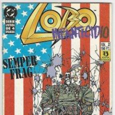 Comics : ZINCO. LOBO. INFANTICIDIO. 2. Lote 266630328