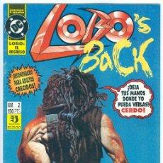 Cómics: ZINCO. LOBO. LOBOS´ BACK. 2. Lote 266630353