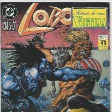 Cómics: ZINCO. LOBO. RETRATO DE UNA VICTIMA.. Lote 266630378