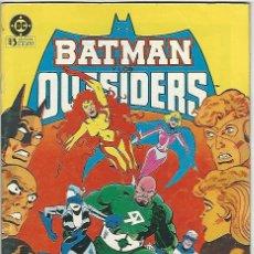 Cómics: ZINCO. BATMAN Y LOS OUTSIDERS. 7. Lote 295692413