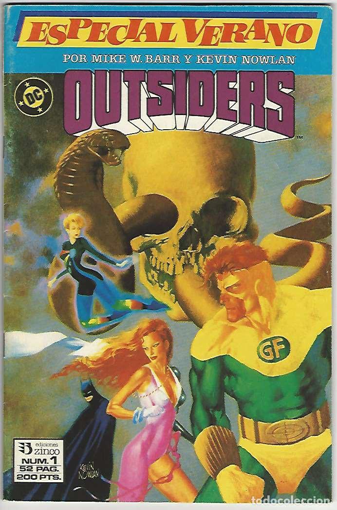 ZINCO. OUTSIDERS. ESPECIAL VERANO. (Tebeos y Comics - Zinco - Outsider)