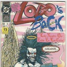 Cómics: ZINCO. LOBO. LOBO´S BACK. 4. Lote 266696383