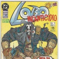 Cómics: ZINCO. LOBO. INFANTICIDIO. 1.. Lote 266696408